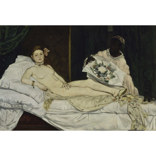 Tablou Olympia - Edouard Manet