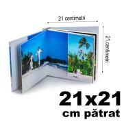 Album Fotocarte Lux 21x21cm pătrat