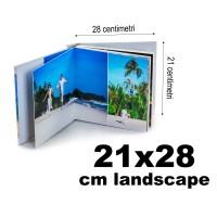 Album Fotocarte Lux 21x28cm panoramic (landscape)