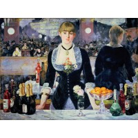 Tablou Bar la Folies Bergere - Edouard Manet