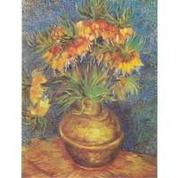 Tablou Bujori in vaza de cupru - Vincent van Gogh
