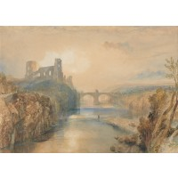 Tablou Castelul Barnard - Joseph Mallord William Turner