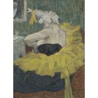 Tablou Clovniţa Cha-U-Kao cu tutu - Toulouse Lautrec