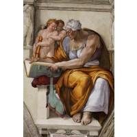 Tablou Cumaean Sibyl - Michelangelo Buonarroti