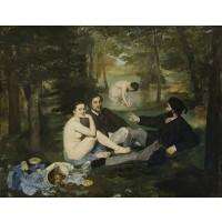 Tablou Dejun pe iarba - Edouard Manet