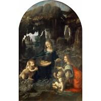 Tablou Fecioara între stânci - Leonardo da Vinci