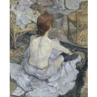 Tablou Găteala - Toulouse Lautrec