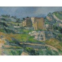 Tablou Houses in Provence - Paul Cezanne