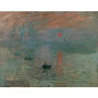 Tablou Impresie la rasarit de soare - Claude Monet