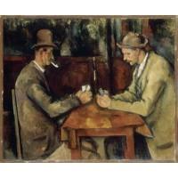 Tablou Jucătorii de cărţi - Paul Cezanne