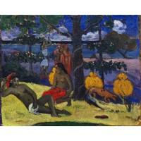 Tablou La Femme aux mangos - Paul Gauguin