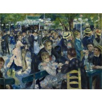 Tablou La Moulin de la Galette - Pierre Auguste Renoir