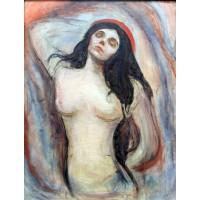 Tablou Madonna - Edvard Munch
