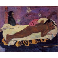 Tablou Manao tupapau - Paul Gauguin