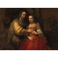 Tablou Mireasa evreica - Rembrandt van Rijn