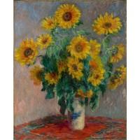 Monet - Buchet de Floarea Soarelui