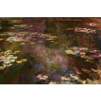 Tablou Nuferi pe apa - Claude Monet