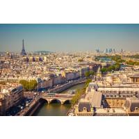 Tablou canvas Paris - Sena și turnul Eiffel