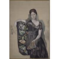 Tablou Portrait d'Olga - Pablo Picasso