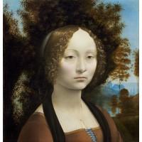 Tablou Portretul Ginevrei de Benci - Leonardo da Vinci