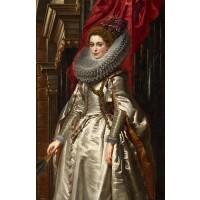 Tablou Portretul marchizei Brigida Spinola Doria - Peter Paul Rubens