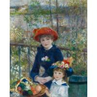 Două Surori (pe Terasă) - Pierre-Auguste Renoir