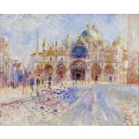 Renoir - Piața San Marco Veneția