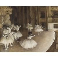 Tablou Repetitii de balet - Edgar Degas