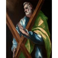 Tablou Sfantul Apostol Andrei - El Greco