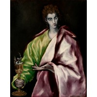 Tablou Sfantul Ioan Evanghelistul - El Greco