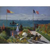 Tablou Terasa din Saint - Adresse - Claude Monet