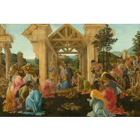 Tablou The Adoration of the Magi - Sandro Botticelli