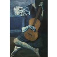 Tablou The Old Guitarist - Pablo Picasso