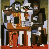 Tablou Three Musicians - Pablo Picasso
