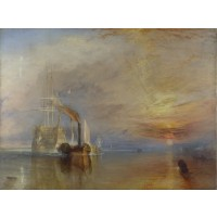 Tablou Vasul de linie Temerarul remorcat - Joseph Mallord William Turner