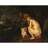 Tablou Venus frigida - Peter Paul Rubens