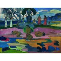 Tablou Ziua idolului - Paul Gauguin