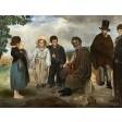 Tablou Batranul muzician - Edouard Manet