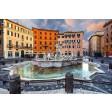 Tablou canvas - Roma - Piazza Navona - Fantana lui Neptun